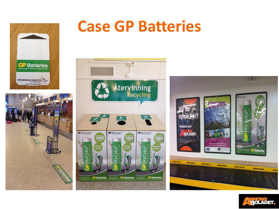 Case GP Batteries
