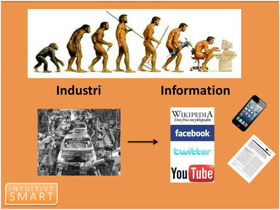 Industri Information too much change in too short a time