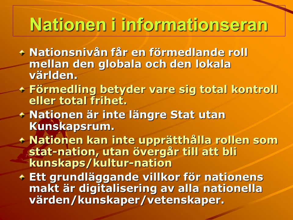 Nationen i informationseran