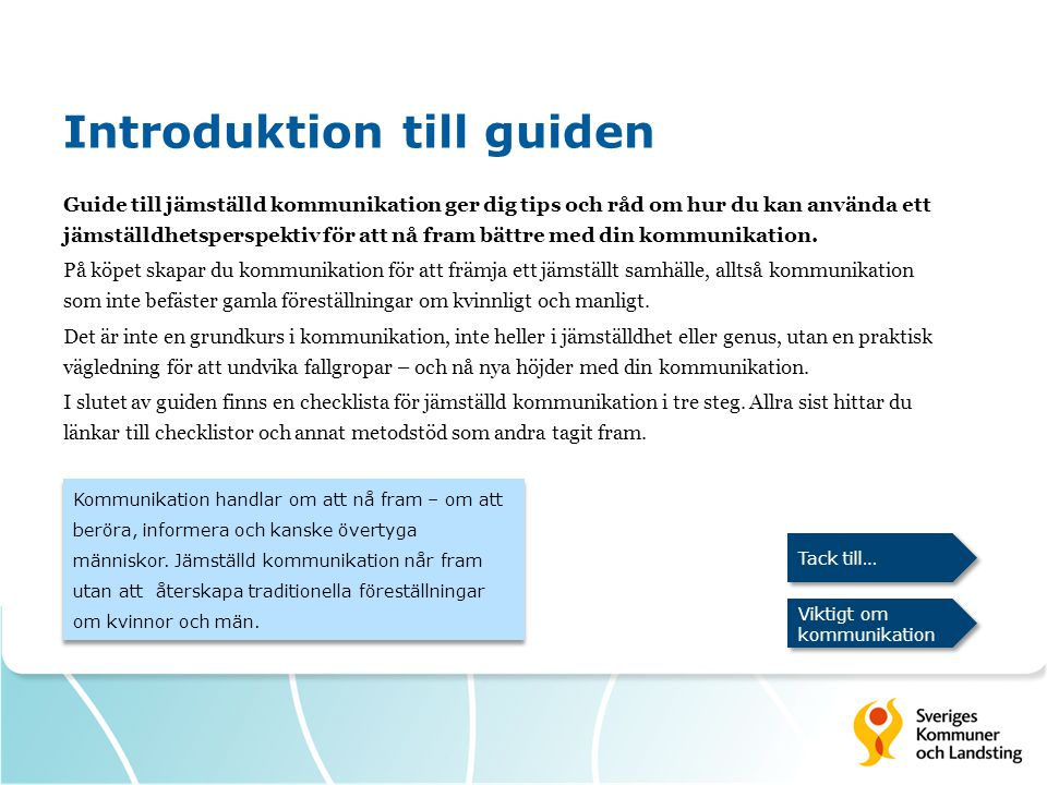 Introduktion till guiden