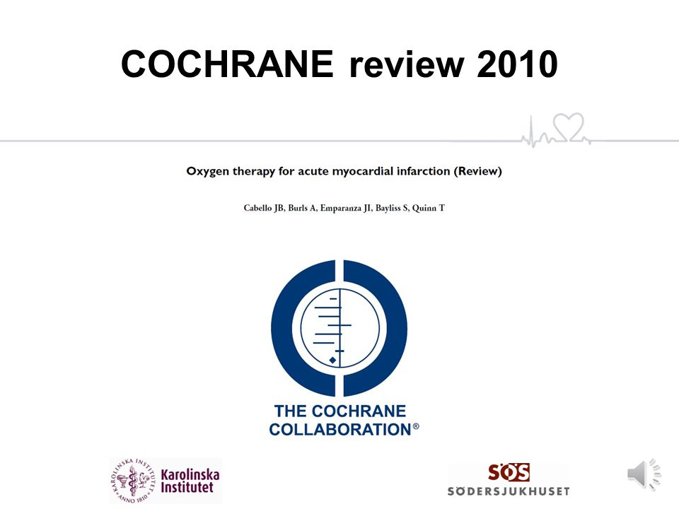 COCHRANE review 2010