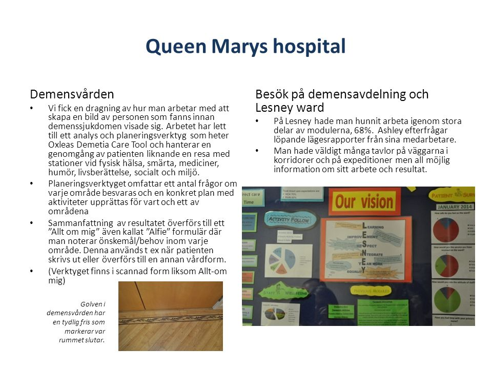Queen Marys hospital Demensvården