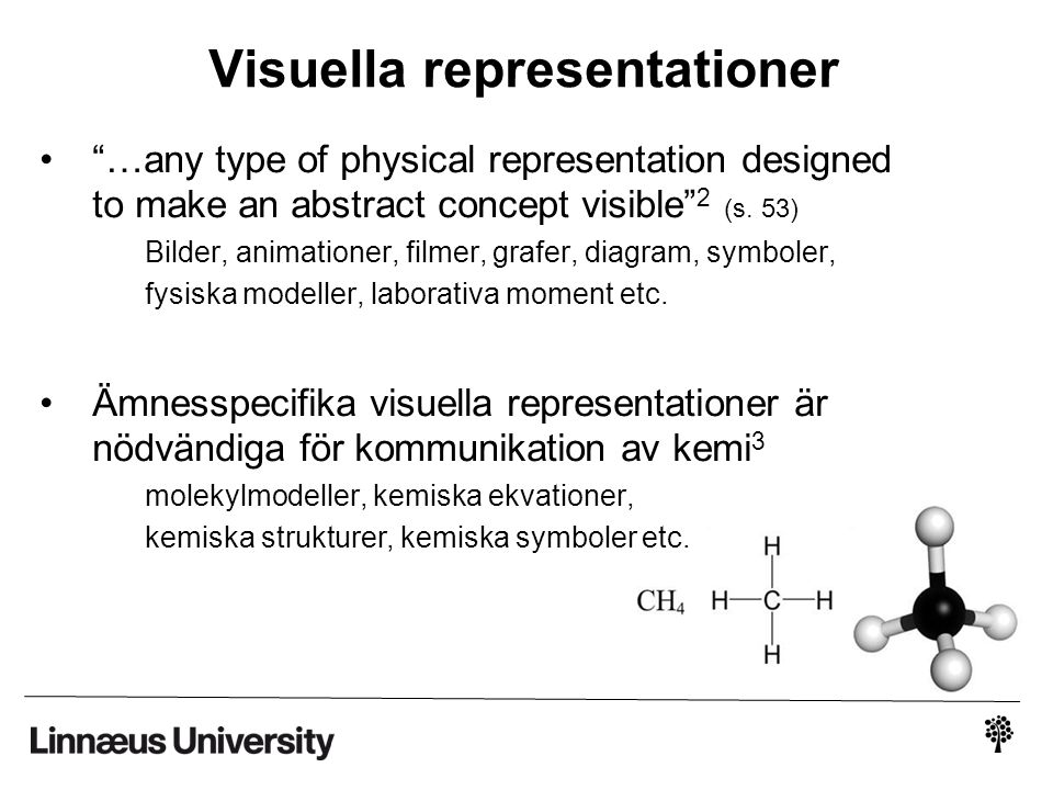 Visuella representationer