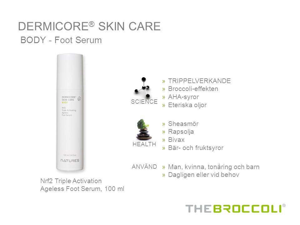 DERMICORE® SKIN CARE BODY - Foot Serum TRIPPELVERKANDE