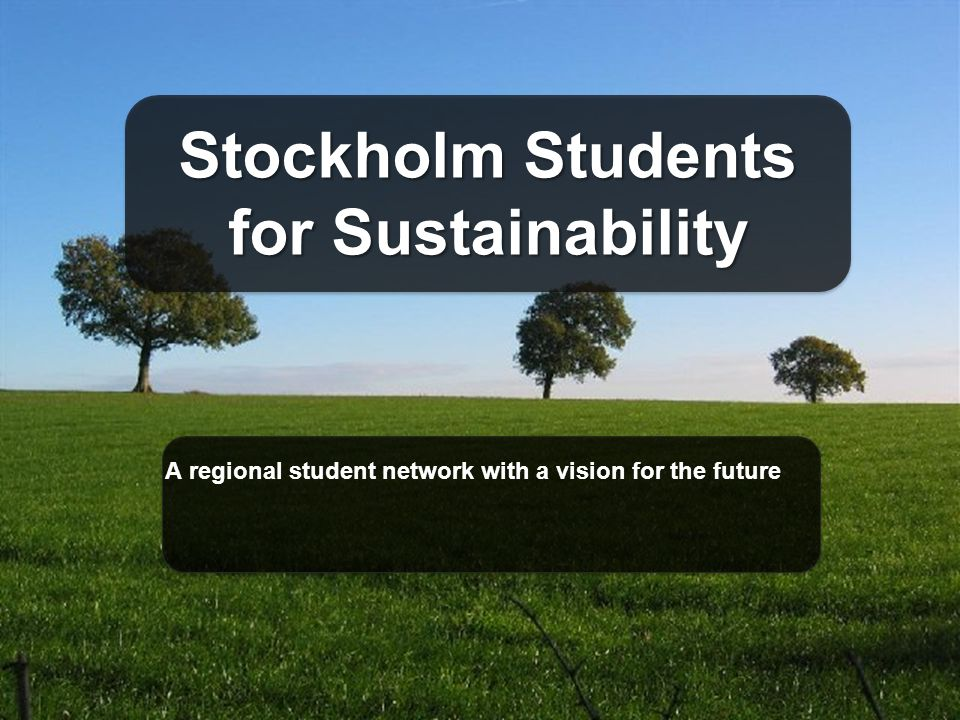 A regional student network with a vision for the future