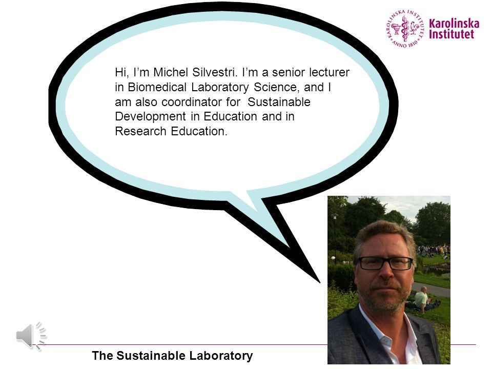 The Sustainable Laboratory
