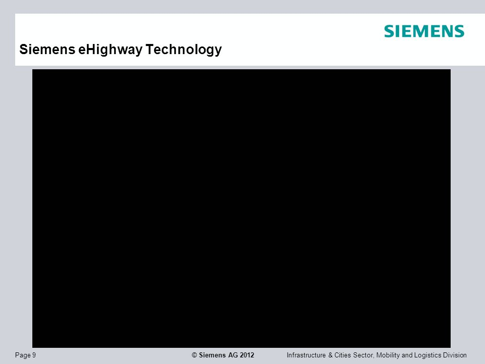 Siemens eHighway Technology