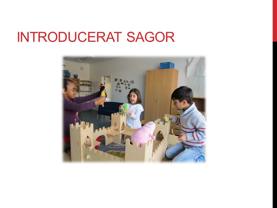 Introducerat sagor