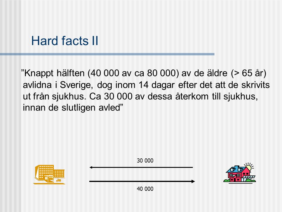 Hard facts II
