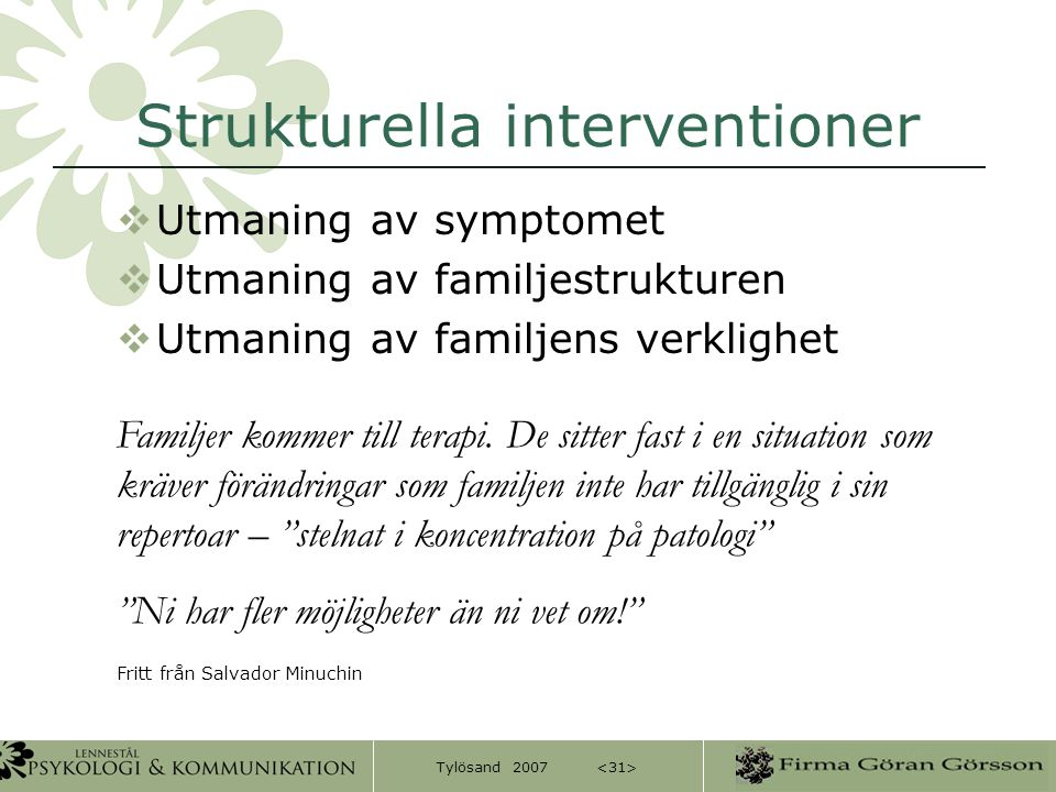 Strukturella interventioner