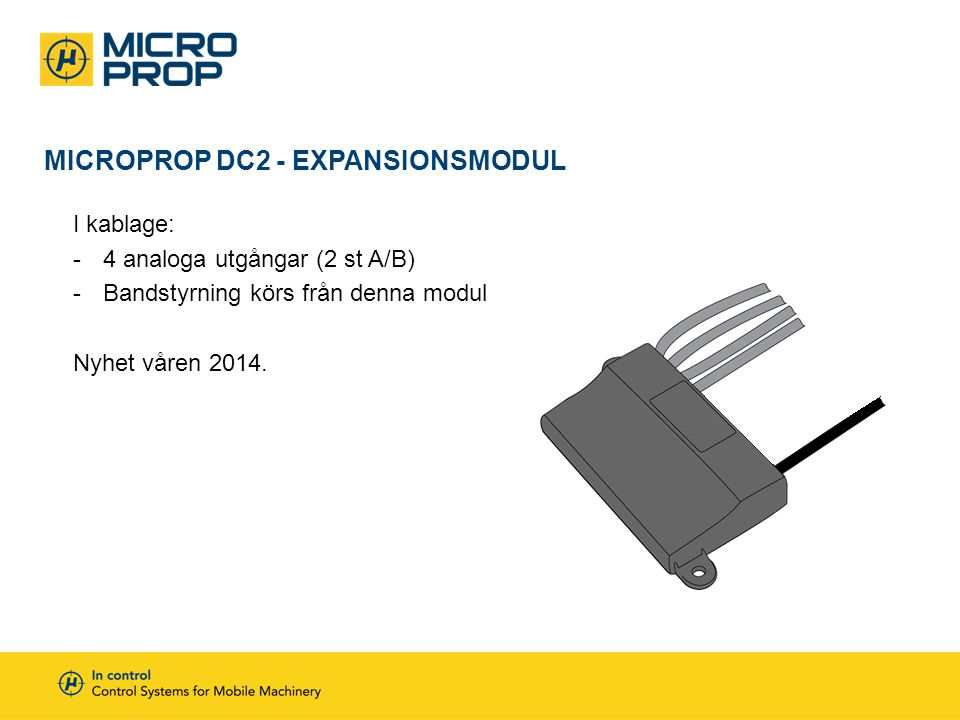 MicroProp DC2 - Expansionsmodul