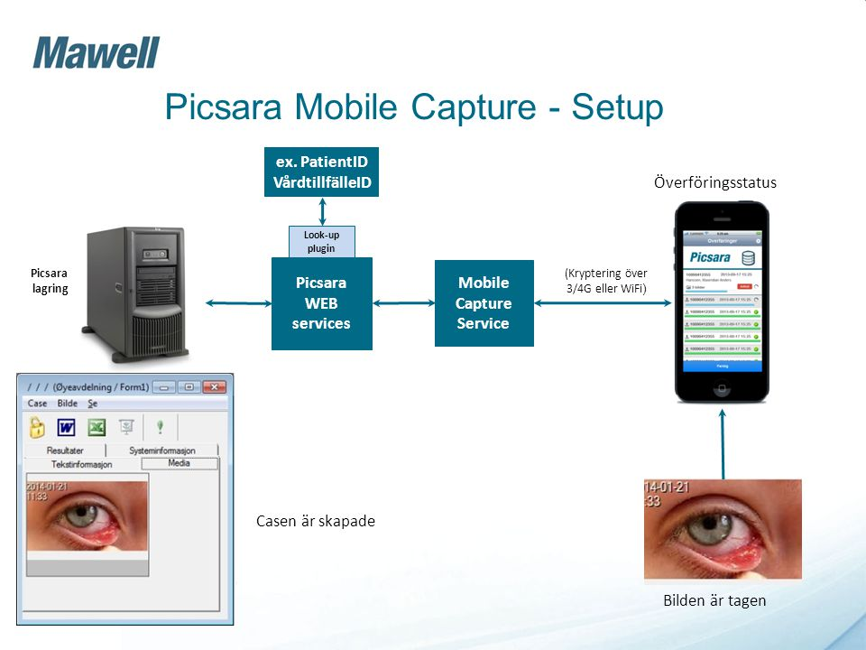 Picsara Mobile Capture - Setup