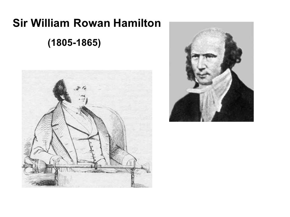 Sir William Rowan Hamilton