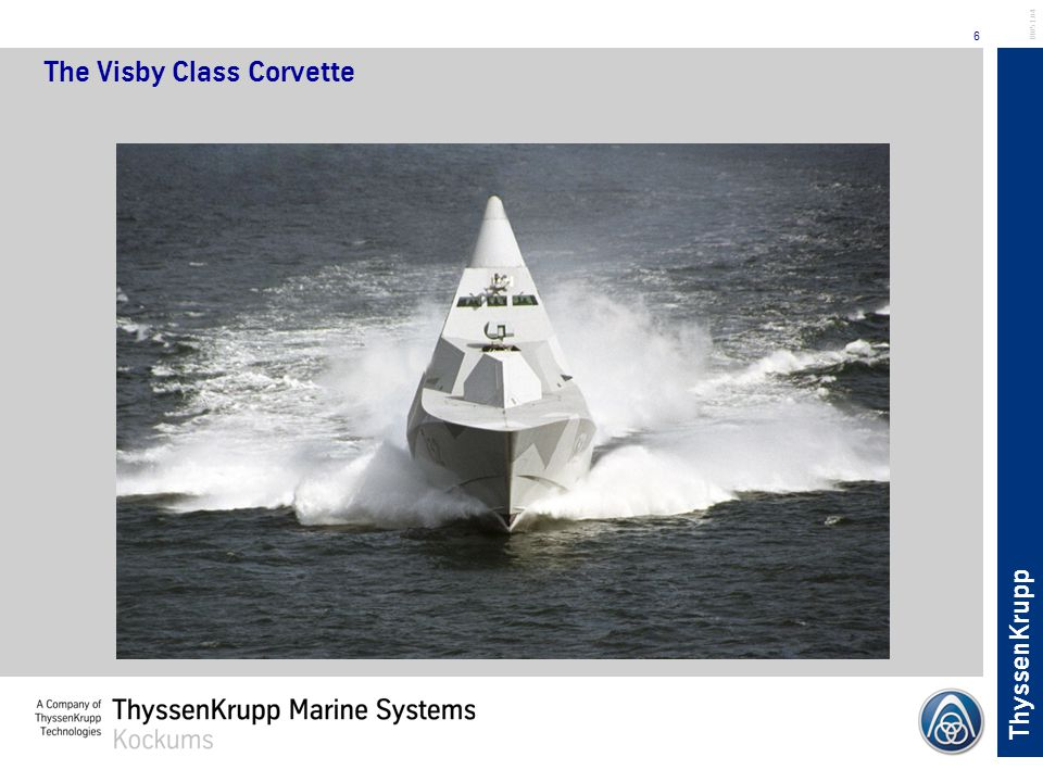 The Visby Class Corvette