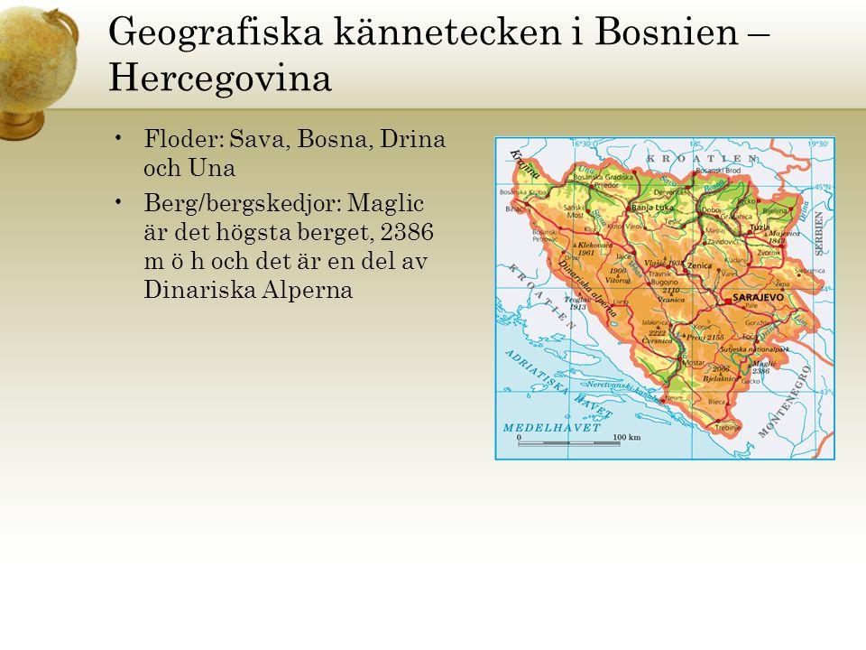 Karta Bosnien Och Hercegovina.Bosnien Hercegovina Hampus Holmgren Christina Svensson 5b Ppt