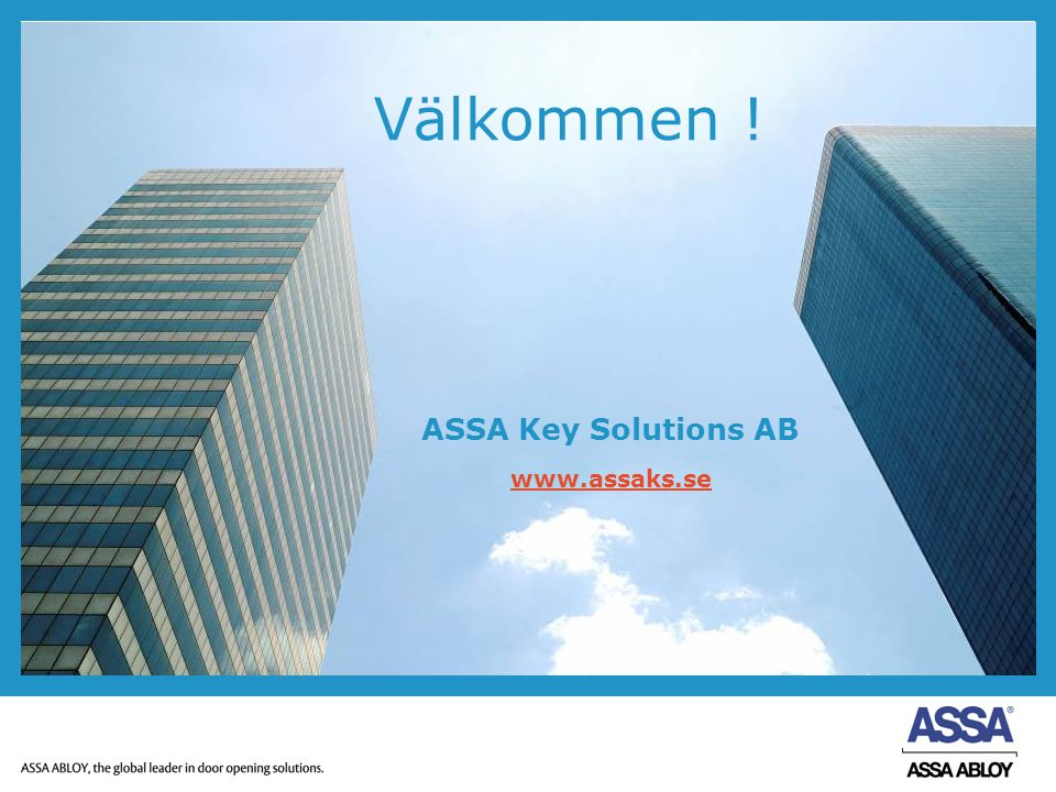 ASSA Key Solutions AB