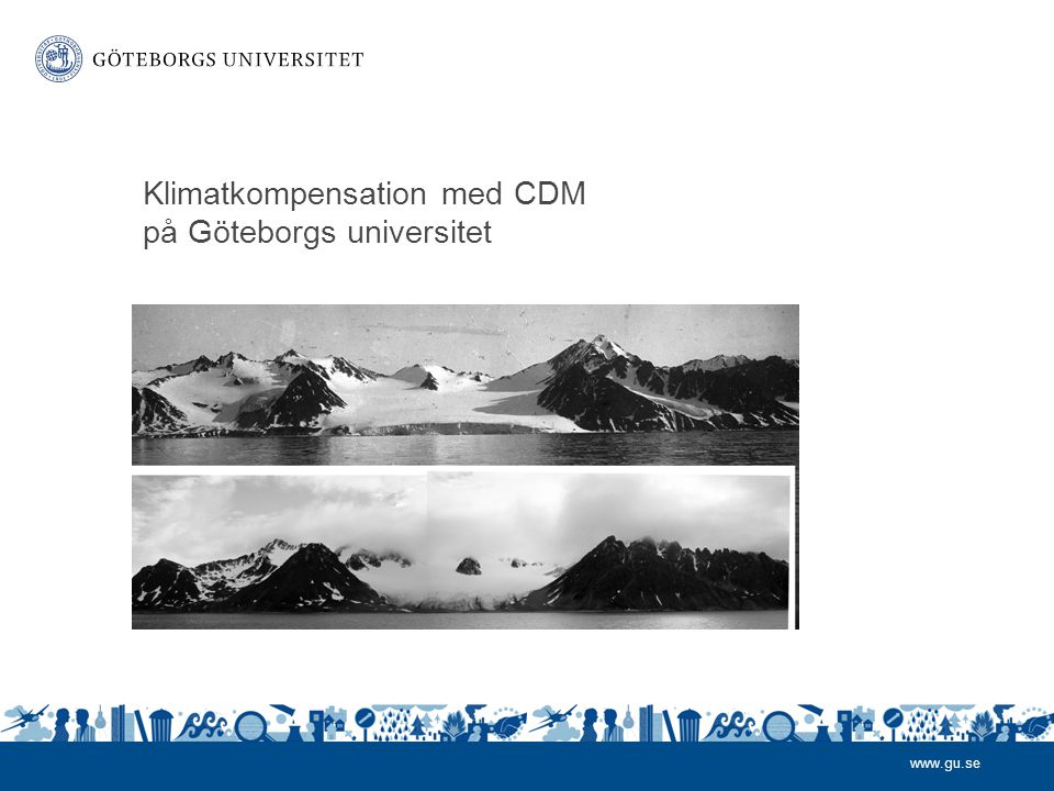 Klimatkompensation med CDM på Göteborgs universitet