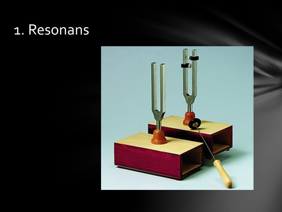 1. Resonans