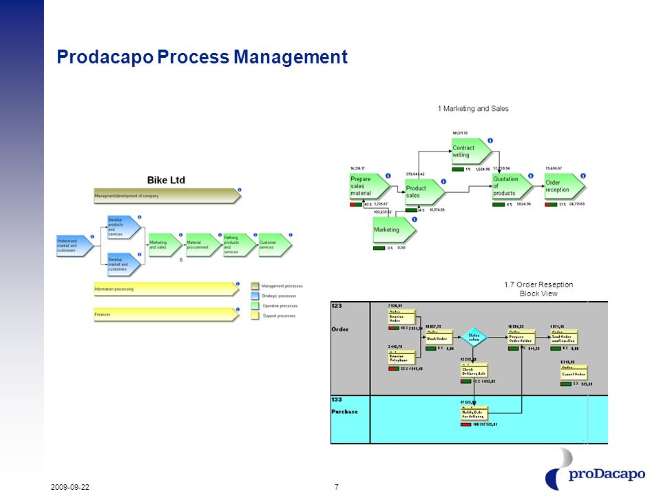 Prodacapo Process Management