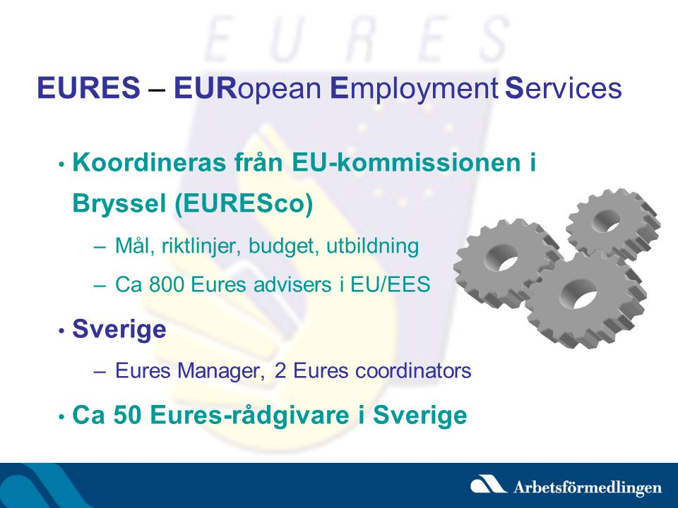 EURES – EURopean Employment Services