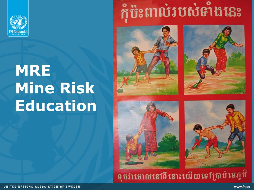 MRE Mine Risk Education