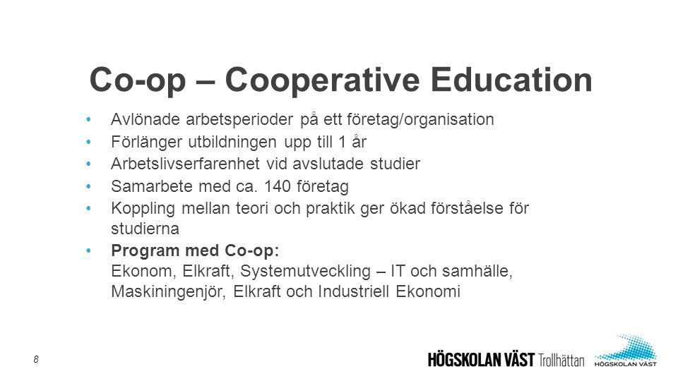 Co-op – Cooperative Education