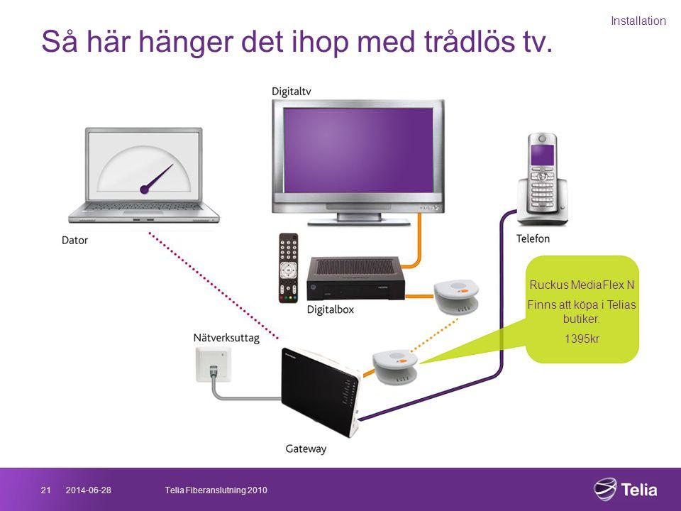 telia fiber tv