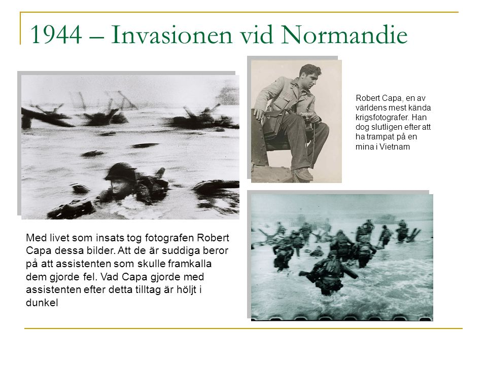 1944 – Invasionen vid Normandie