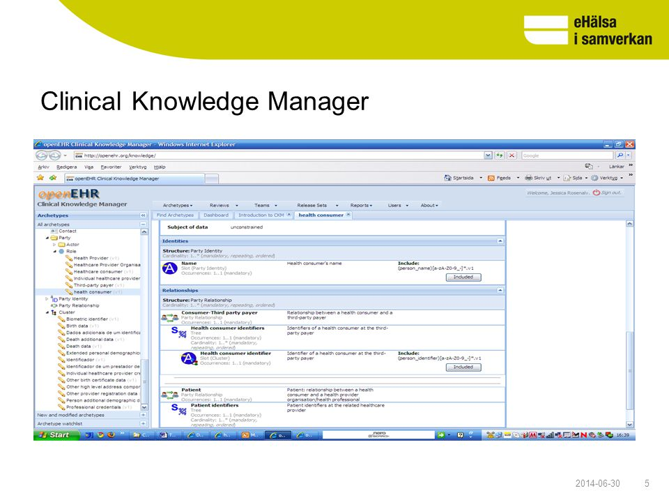 Clinical Knowledge Manager