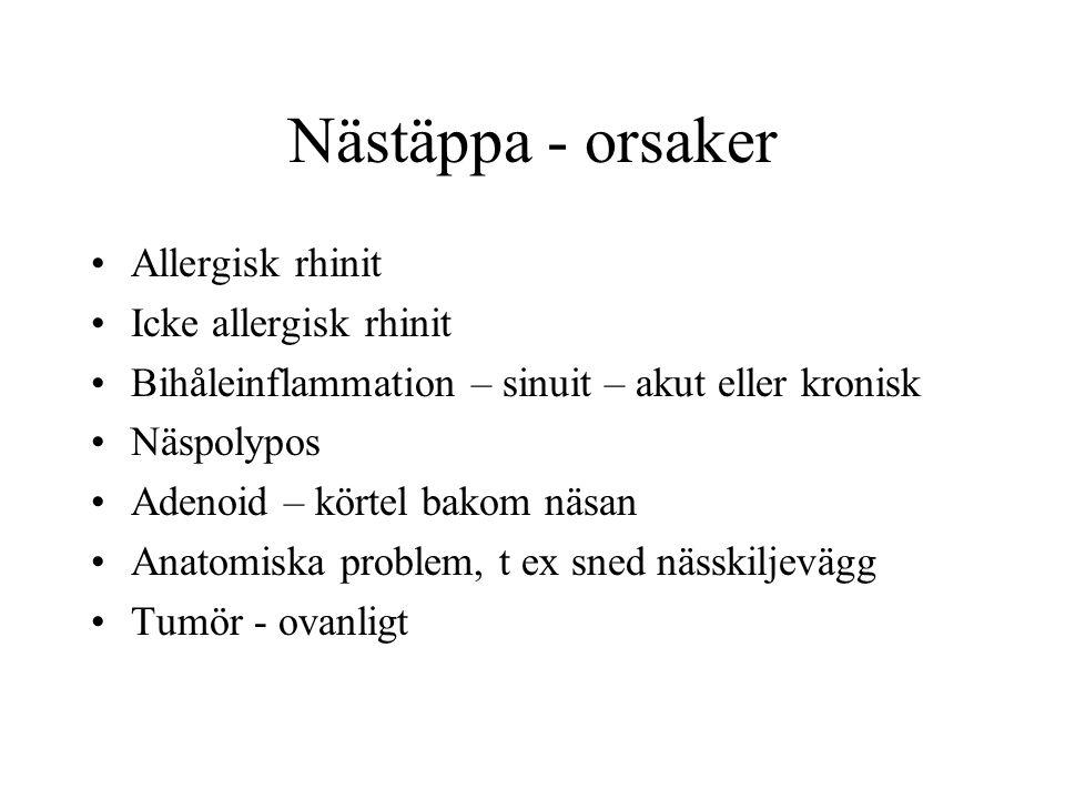 flutide nasal bihåleinflammation