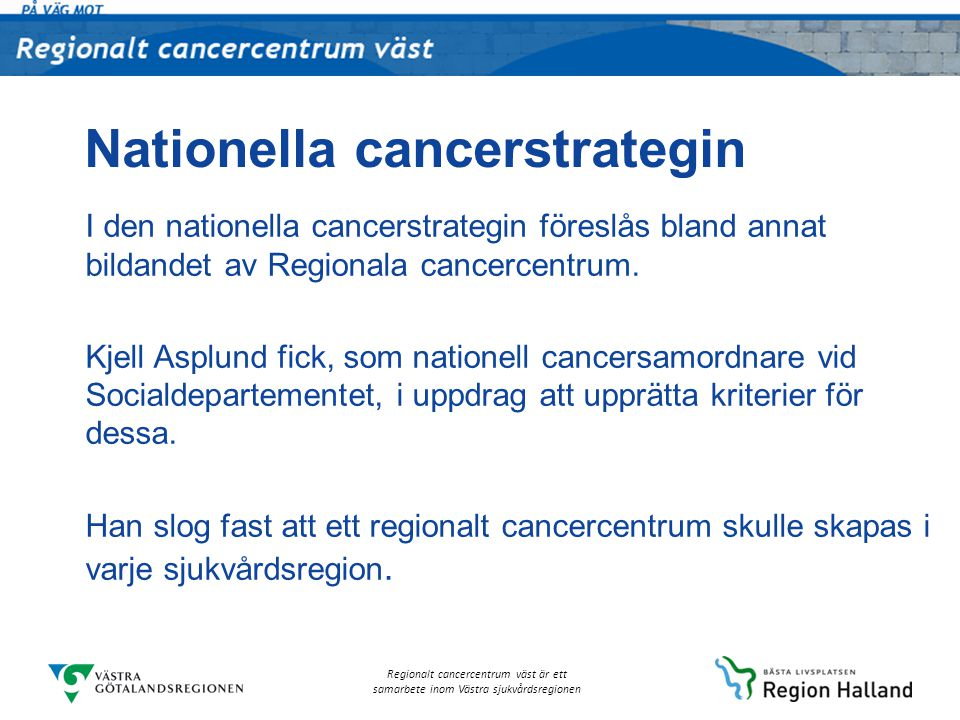 Nationella cancerstrategin