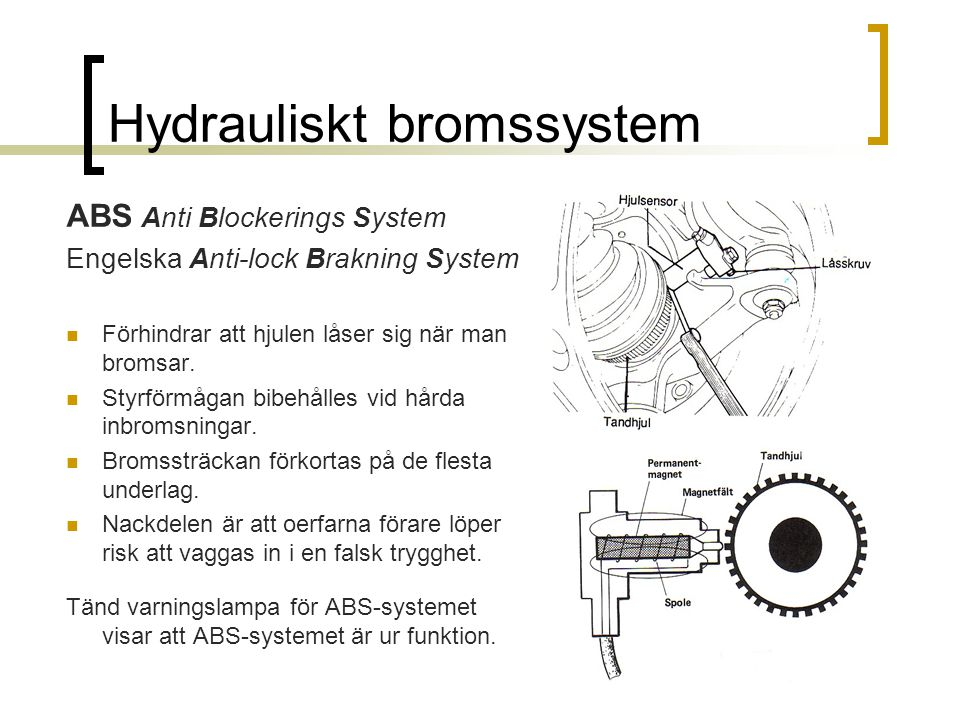 Hydrauliskt system