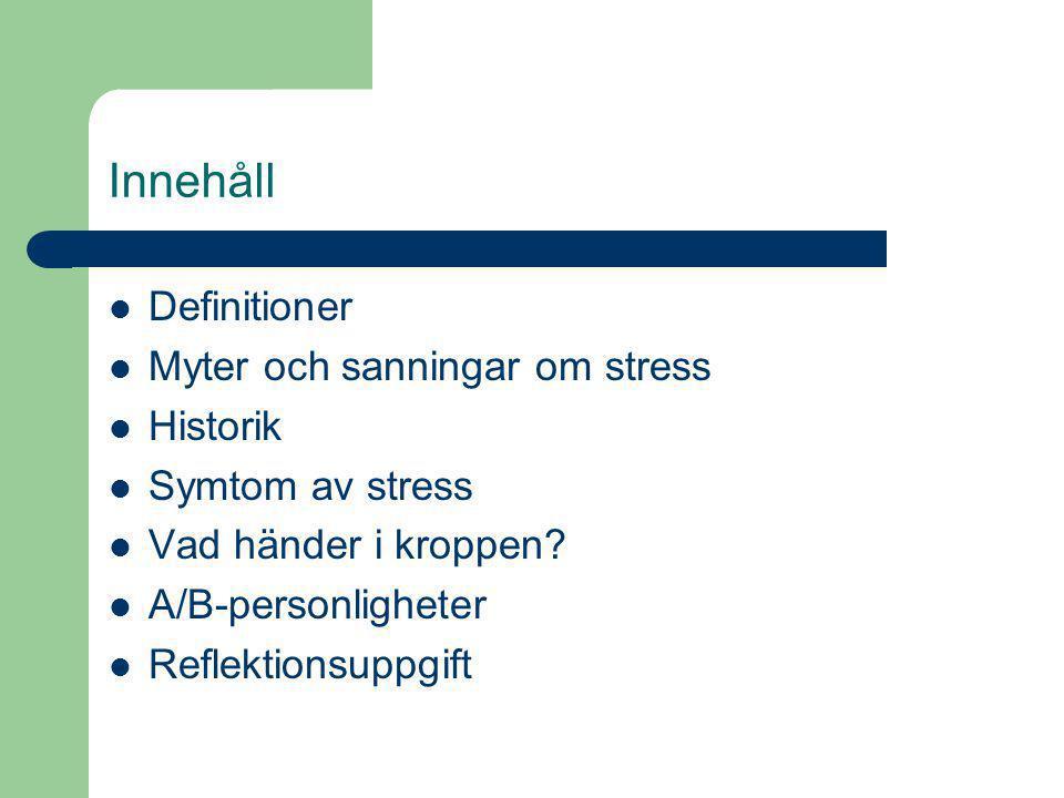 stress kroppsliga symtom