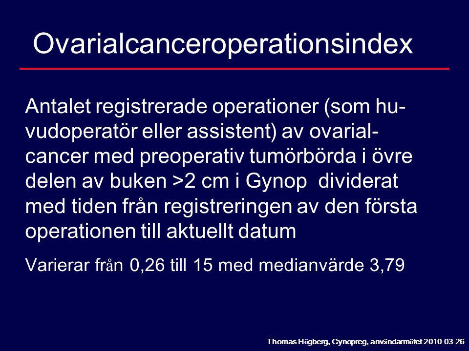 Ovarialcanceroperationsindex